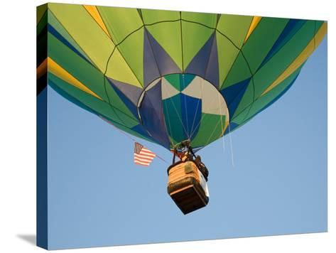 Launching Hot Air Balloons, The Great Prosser Balloon Rally, Prosser, Washington, USA-Jamie & Judy Wild-Stretched Canvas Print