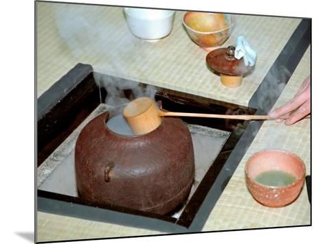 Tea Ceremony, Kyoto, Japan-Shin Terada-Mounted Photographic Print