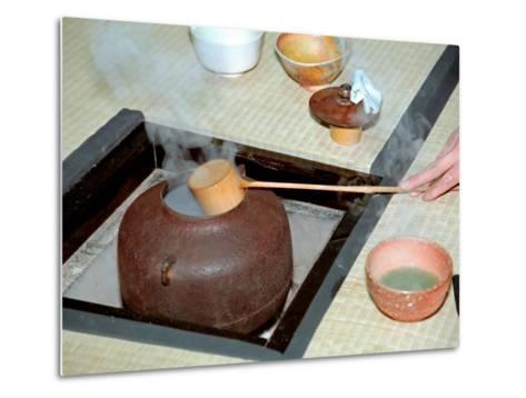 Tea Ceremony, Kyoto, Japan-Shin Terada-Metal Print