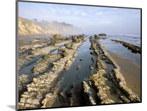 Henry's Beach, Santa Barbara, California, USA-Savanah Stewart-Mounted Photographic Print