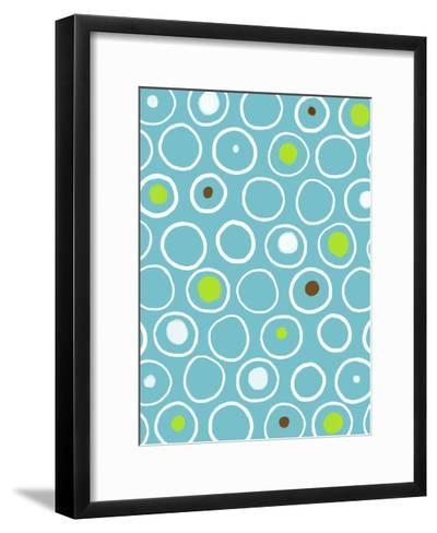 Circles--Framed Art Print
