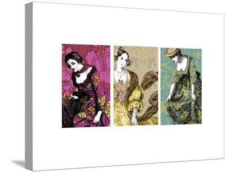 Woman in Gold--Stretched Canvas Print