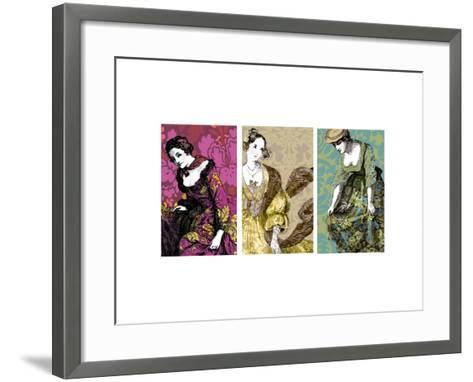 Woman in Gold--Framed Art Print