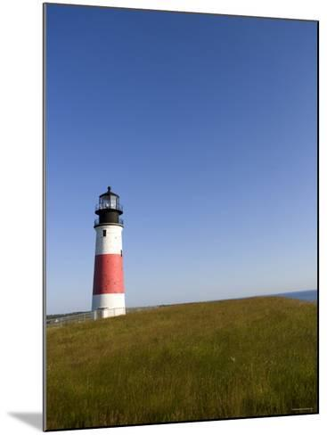 Lone Lighthouse--Mounted Photo