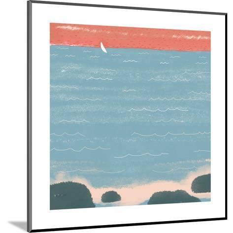 Summer at the Lake I--Mounted Art Print