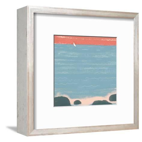 Summer at the Lake I--Framed Art Print