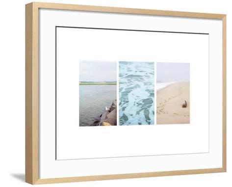 Seagull Watch--Framed Art Print