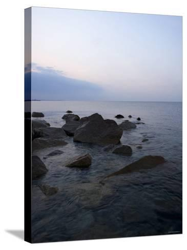 Rocky Shores I--Stretched Canvas Print