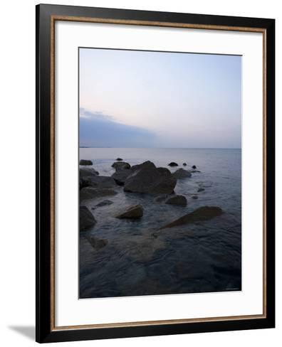 Rocky Shores I--Framed Art Print