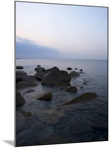 Rocky Shores I--Mounted Photo