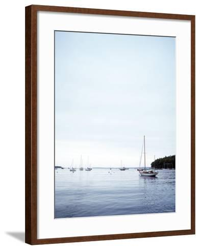 Day with No Wind--Framed Art Print