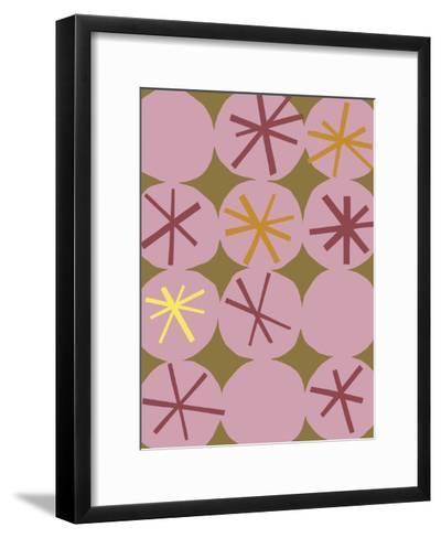 Astro Patterns I--Framed Art Print