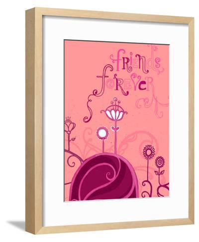 Friends Forever--Framed Art Print
