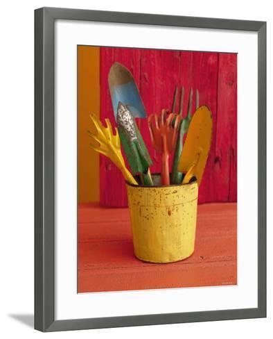 Gardening in Colors--Framed Art Print