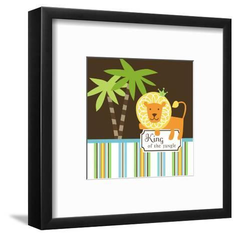 King of the Jungle--Framed Art Print