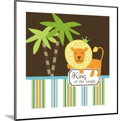 King of the Jungle--Mounted Art Print
