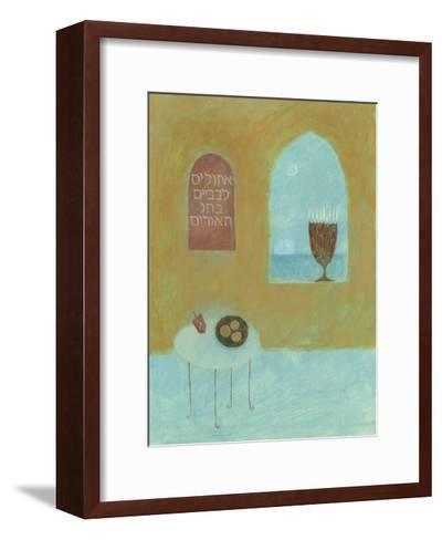 Mystery of the Blue World I--Framed Art Print