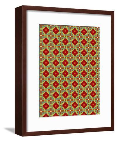 Retro Pattern I--Framed Art Print