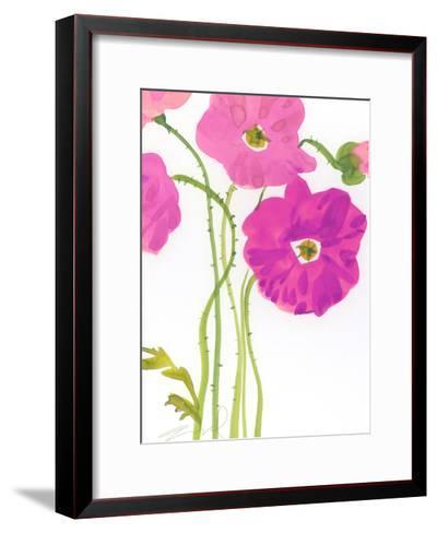 Watercolor Floral--Framed Art Print