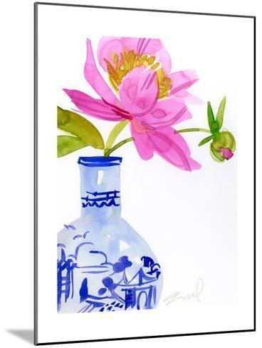 Watercolor Vase--Mounted Photo