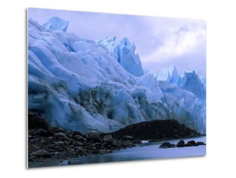 Perito Moreno Glacier and Terminal Moraine, Los Glaciares National Park, Argentina-Pete Oxford-Metal Print