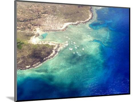 Coastal Reefs Off of the Western Comoros Islands-Michael Fay-Mounted Photographic Print