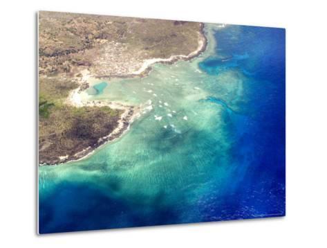 Coastal Reefs Off of the Western Comoros Islands-Michael Fay-Metal Print