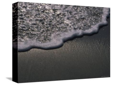 Blurred Motion of a Wave on the Shore, Ventura, California-Stacy Gold-Stretched Canvas Print