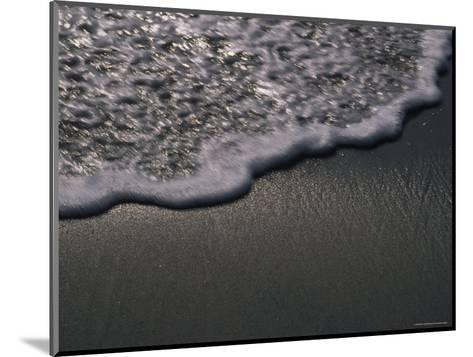Blurred Motion of a Wave on the Shore, Ventura, California-Stacy Gold-Mounted Photographic Print