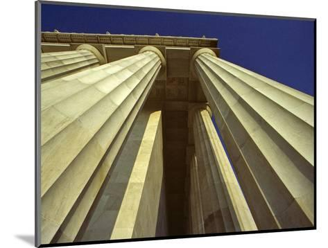 Abstract View of Columns of Lincoln Memorial, Washington, D.C.-Kenneth Garrett-Mounted Photographic Print