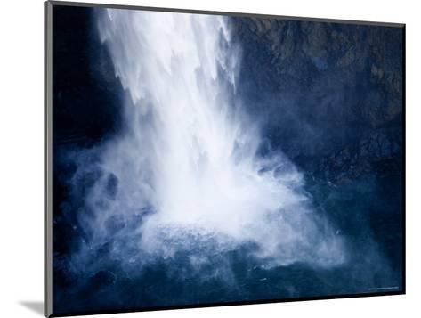 Bottom of a Waterfall-Tim Laman-Mounted Photographic Print