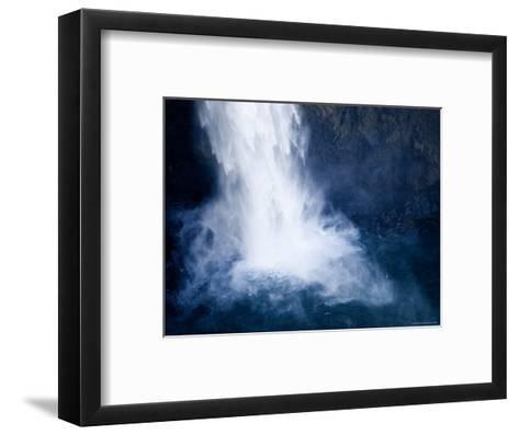 Bottom of a Waterfall-Tim Laman-Framed Art Print