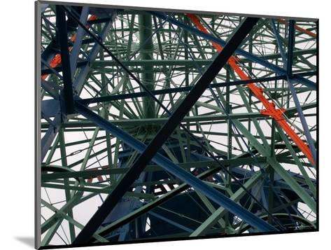 Close-Up of Ferris Wheel Mechanism, Brooklyn, New York-Todd Gipstein-Mounted Photographic Print