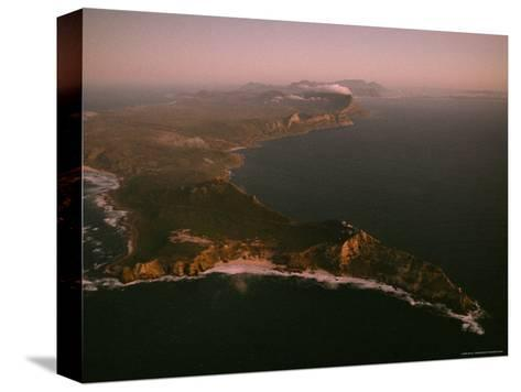 Aerial View of Cape Point, South Africa-James L^ Stanfield-Stretched Canvas Print
