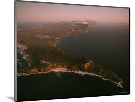 Aerial View of Cape Point, South Africa-James L^ Stanfield-Mounted Photographic Print