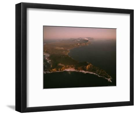 Aerial View of Cape Point, South Africa-James L^ Stanfield-Framed Art Print
