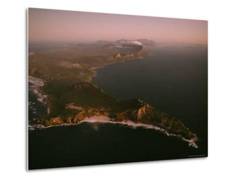 Aerial View of Cape Point, South Africa-James L^ Stanfield-Metal Print