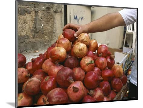 Israel, Jerusalem: Pomegranates in the Street-Brimberg & Coulson-Mounted Photographic Print