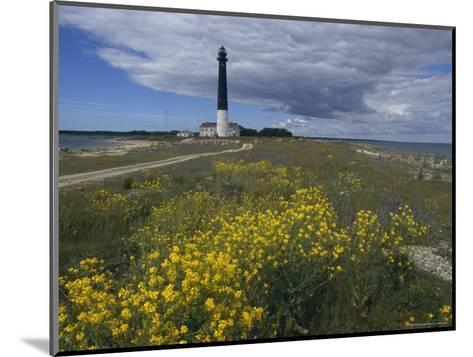 Estonia, Saaremaa: Landscape of Lighthouse-Brimberg & Coulson-Mounted Photographic Print