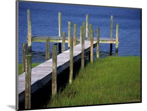 Dock in the Bay-Stacy Gold-Mounted Photographic Print