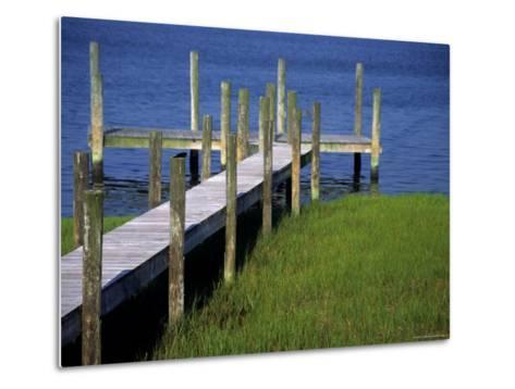 Dock in the Bay-Stacy Gold-Metal Print