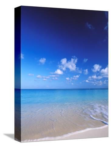 Grand Cayman, Cayman Islands; Caribbean at Seven Mile Beach and Ocean-James Forte-Stretched Canvas Print
