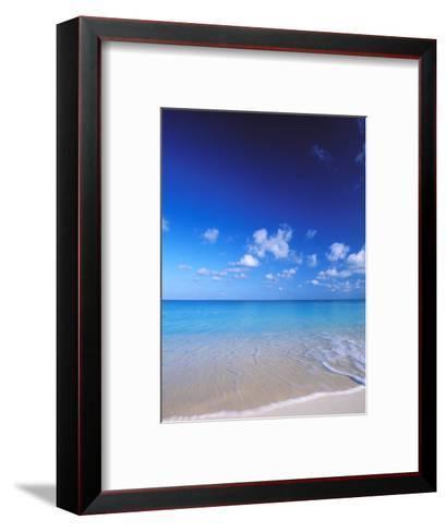 Grand Cayman, Cayman Islands; Caribbean at Seven Mile Beach and Ocean-James Forte-Framed Art Print