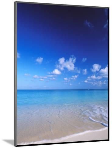 Grand Cayman, Cayman Islands; Caribbean at Seven Mile Beach and Ocean-James Forte-Mounted Photographic Print
