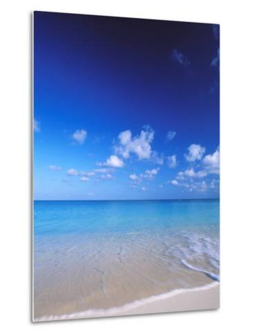 Grand Cayman, Cayman Islands; Caribbean at Seven Mile Beach and Ocean-James Forte-Metal Print