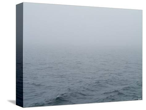 Fog over Block Island Sound, Rhode Island-Todd Gipstein-Stretched Canvas Print