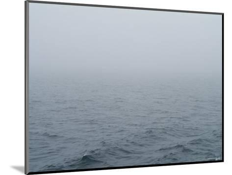 Fog over Block Island Sound, Rhode Island-Todd Gipstein-Mounted Photographic Print