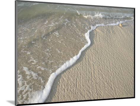 Ocean Water on the Beach, Cabo San Lucas, Mexico-Gina Martin-Mounted Photographic Print