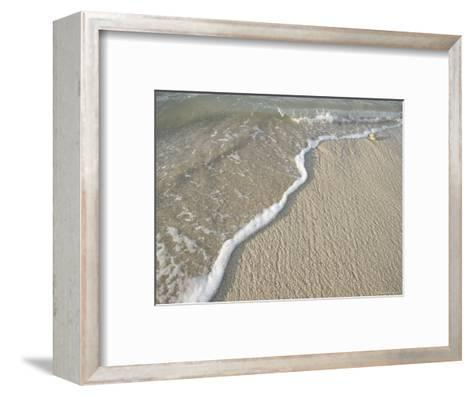 Ocean Water on the Beach, Cabo San Lucas, Mexico-Gina Martin-Framed Art Print