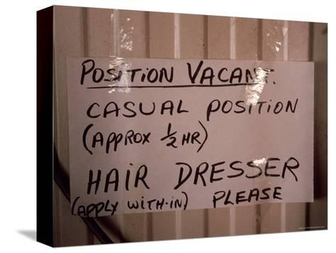 Outback Cattle Station Owners Wife Advertises for a Hair Dresser, Australia-Jason Edwards-Stretched Canvas Print